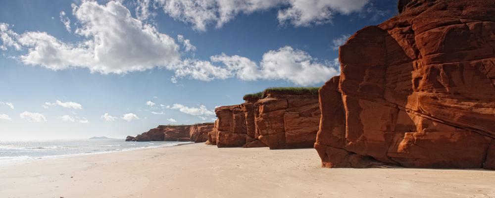Copy of Landscape photo in the Magdalen Islands - Dune du Sud