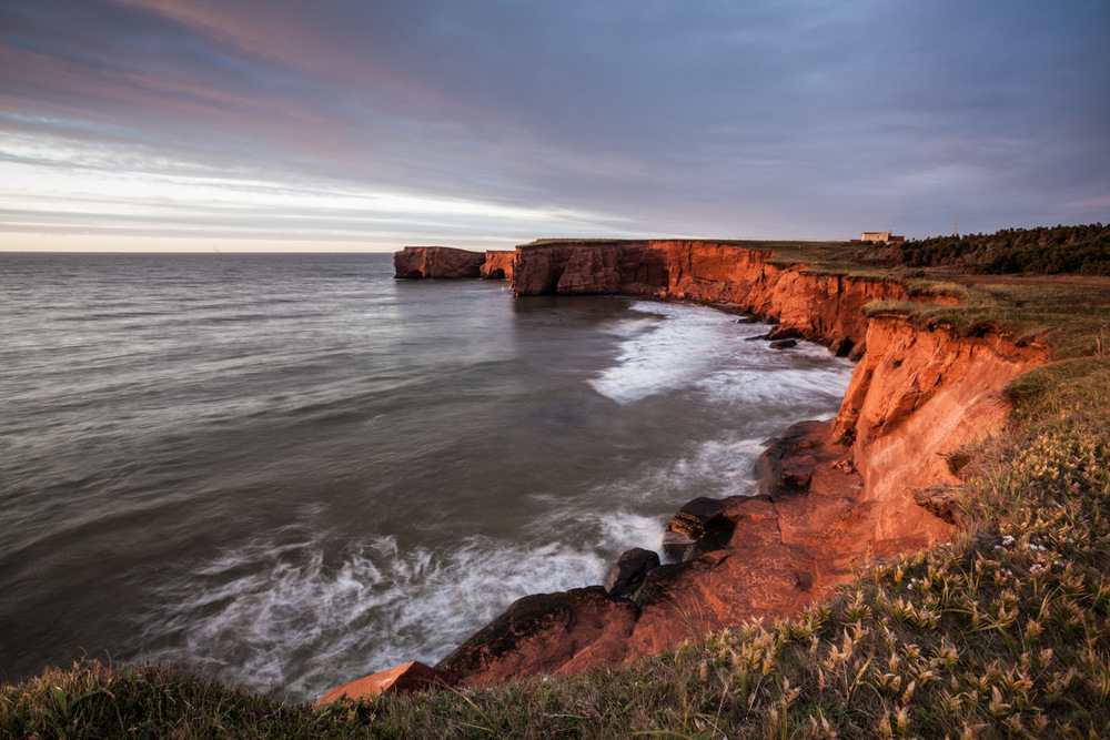 Landscape photo in the Magdalen Islands - Belle Anse