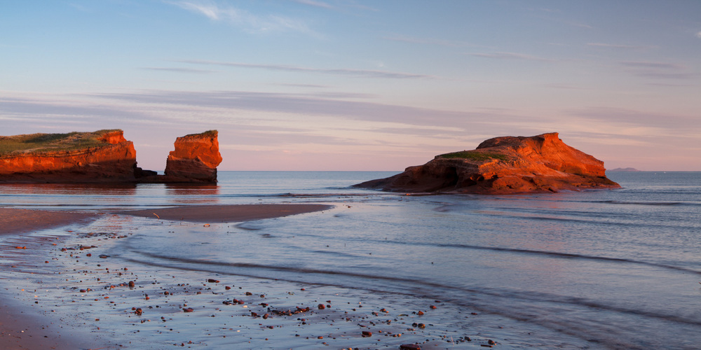 Landscape photo in the Magdalen Islands - Grande Entree