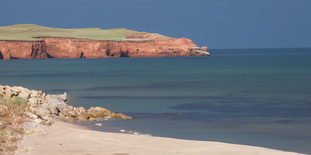 Landscape photo in the Magdalen Islands - Pointe aux Loups