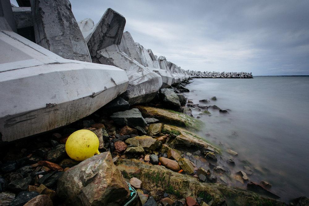 Photo de paysage aux Îles de la Madeleine -dollos à Havre-aux-Maisons