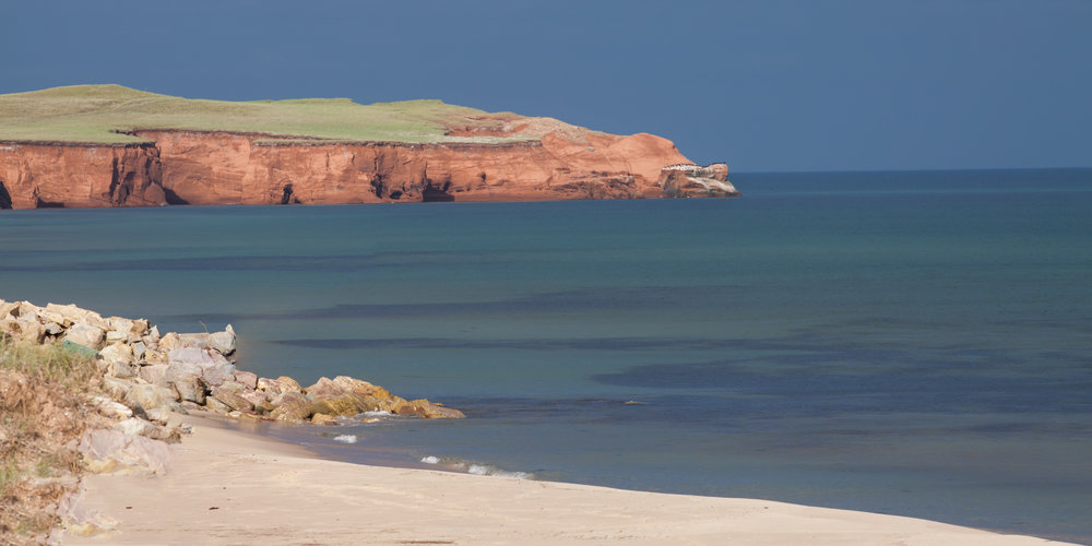 Landscape photo in the Magdalen Islands - Old Harry