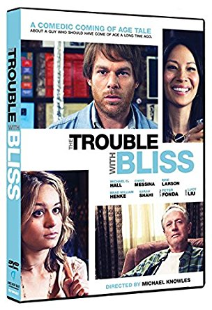 The Trouble with Bliss, starring Brie Larson, Michael C. Hall, Peter Fonda, and Lucy Liu