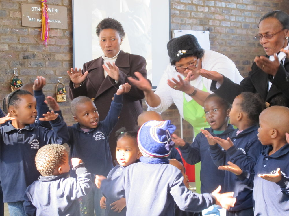 Grannies and Children, South Africa Adoption