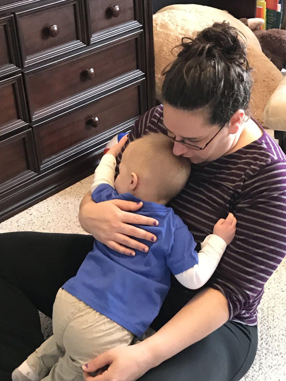 Michael Mommy Hug.JPG