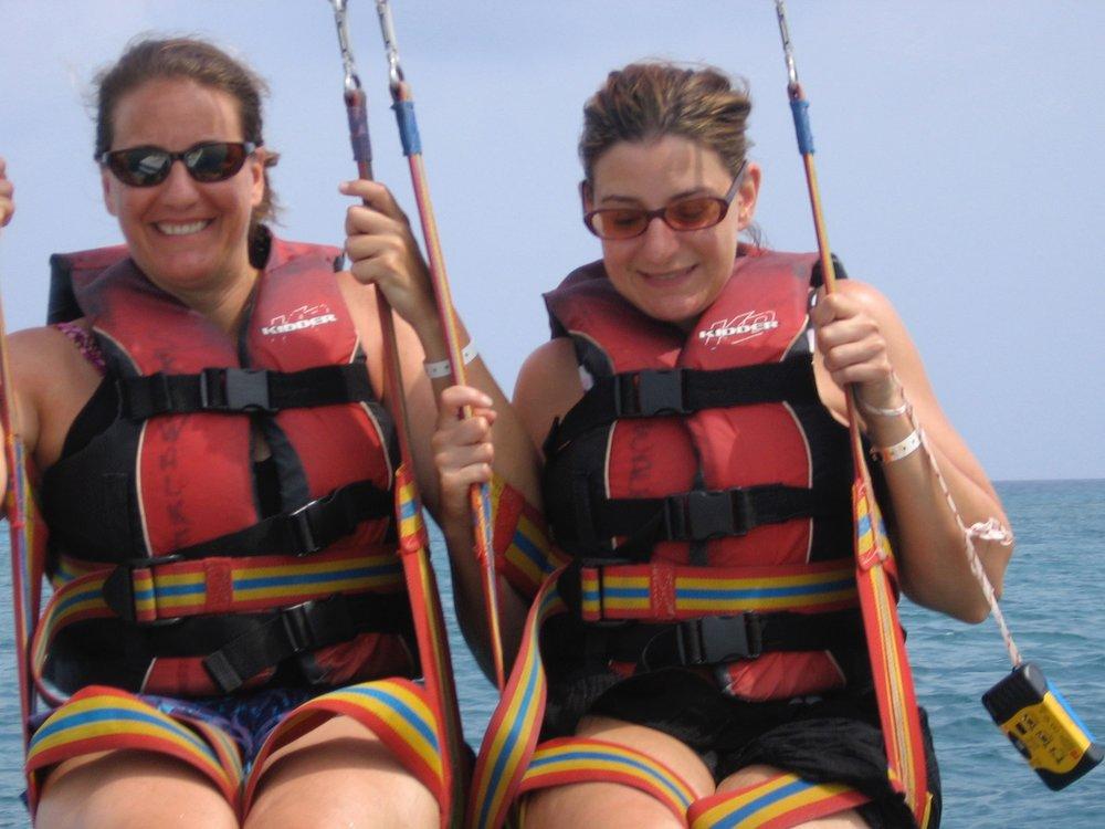 Sara & Eva parasailing.jpg