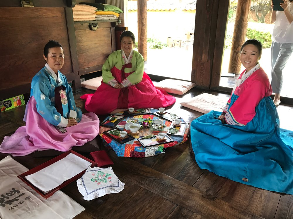 """I went to my home land, South Korea, where I was adopted from. There I took Nanta lessons, did the traditional tea ceremony and met so many heart touching people."""