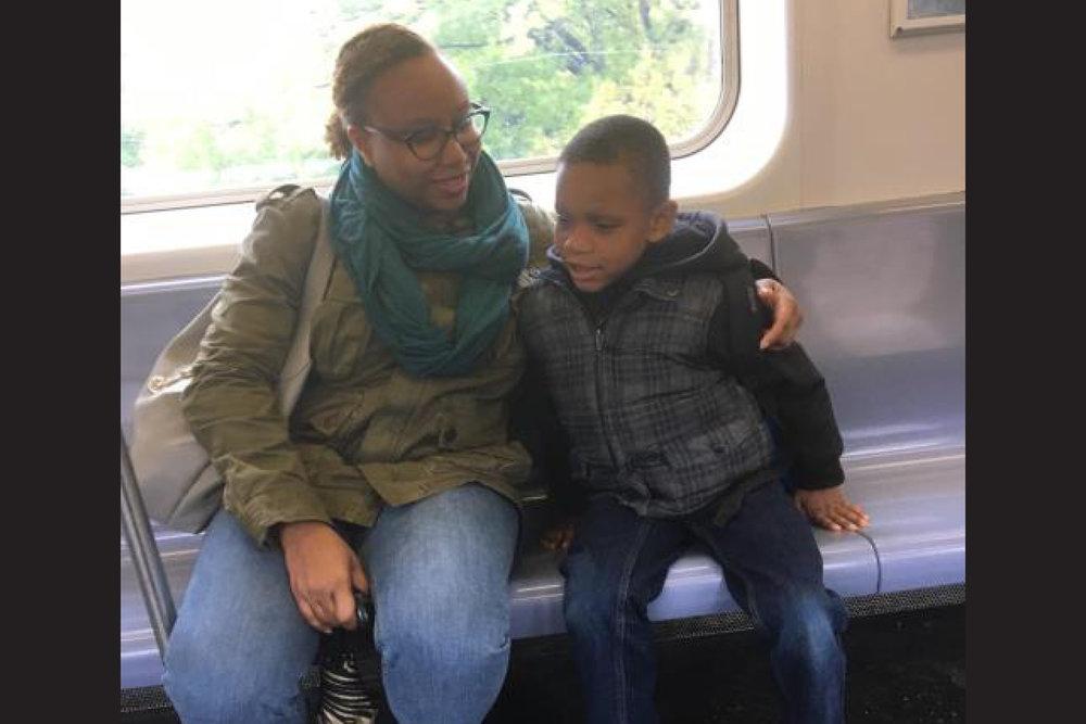 Bronx visit (with Elijah)