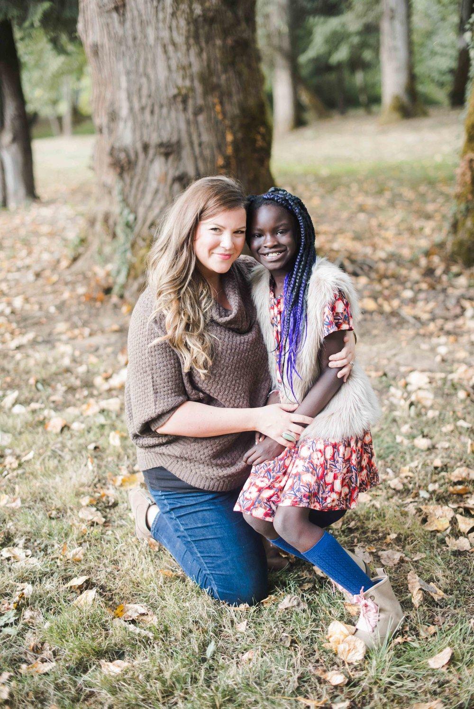 Kerri and her daughter, Elsa