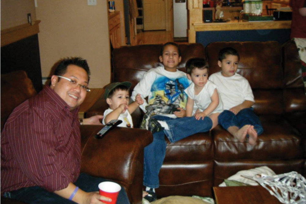 Neil & David's nephews!