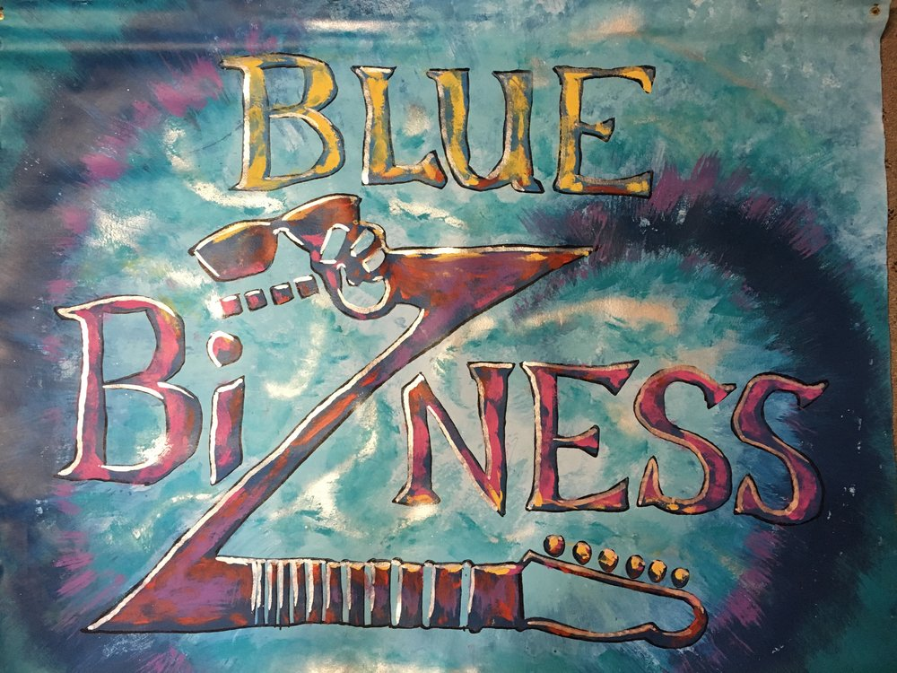 Blue Bizness - Get ready to move!Berwyn-based rocking blues quartet