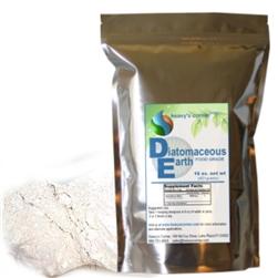 100% Natural - 99 99% Amorphous Silica - Food Grade Contains 8 ounces Food  Grade Diatomaceous Earth Packaged in HDPE container to assure a long shelf