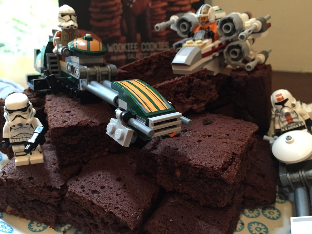 Et Voila - Star Wars brownies!