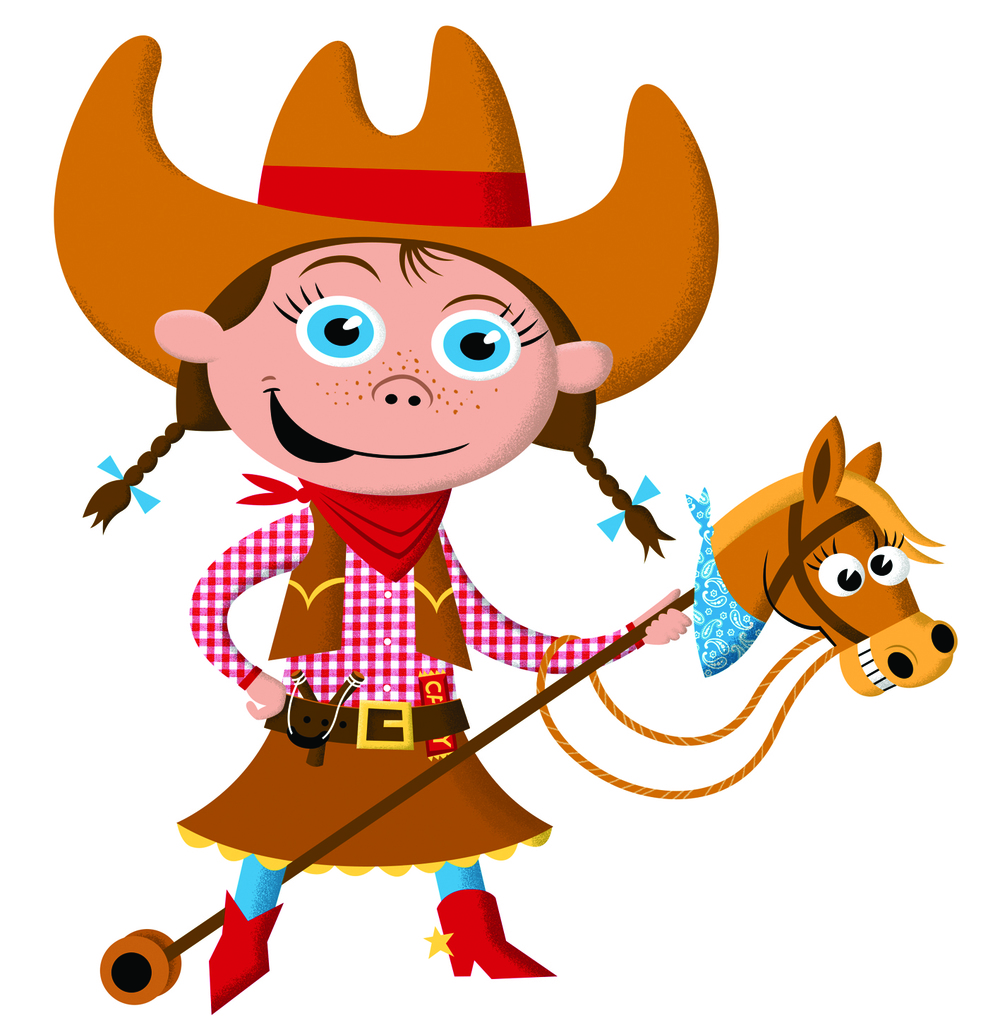 Our Muklet Cowgirl designed exclusively for Muklet by Robert Grieves