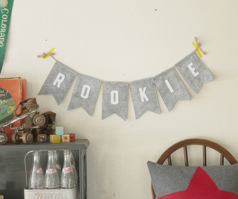 Embrace your inner Rookie! Rookie Bunting available to to buy here