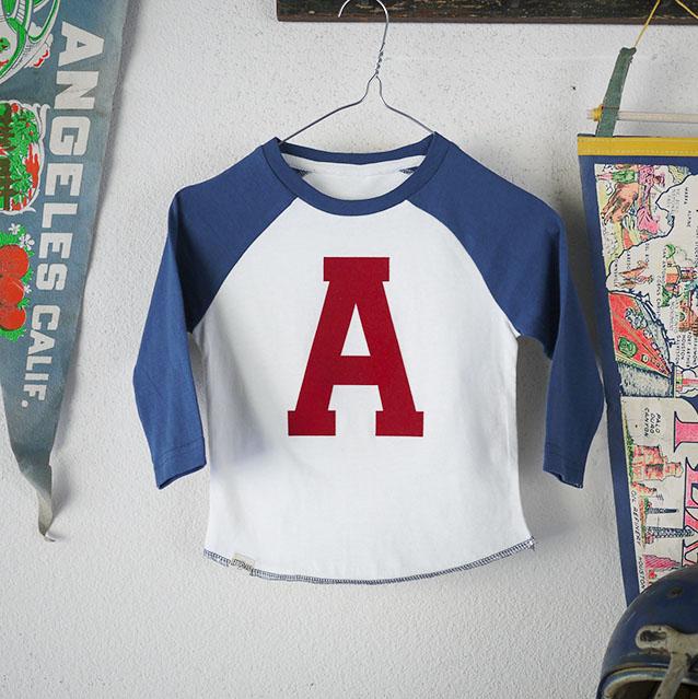 Letter Baseball T