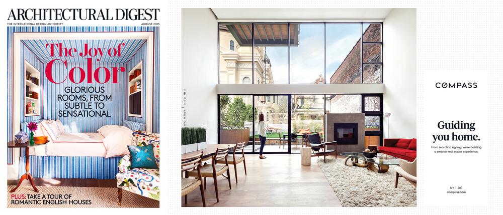 Architectural Digest - August 2015
