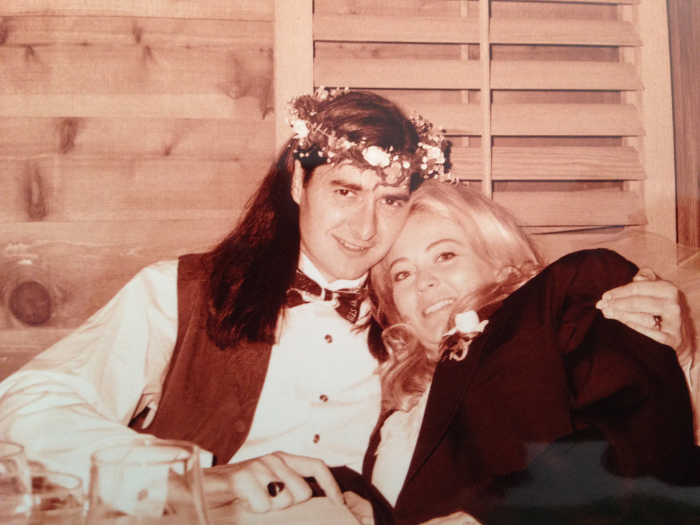 1994 wedding photo