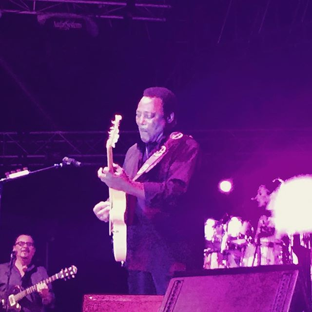 #georgebenson in perfect form for our last performance of 2017 ! #cancunjazzfest