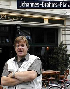 John Gibbons on a visit to Hamburg, Germany