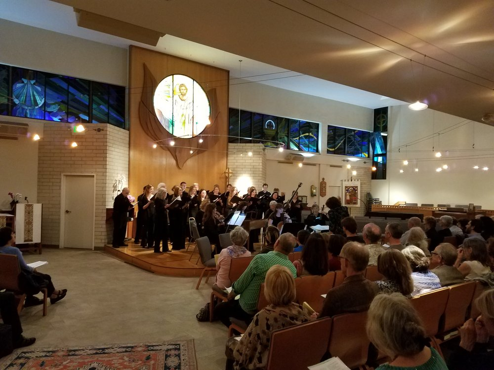 Jouyssance and Los Angeles Baroque at St. Bede's Episcopal Church, June 10, 2017.