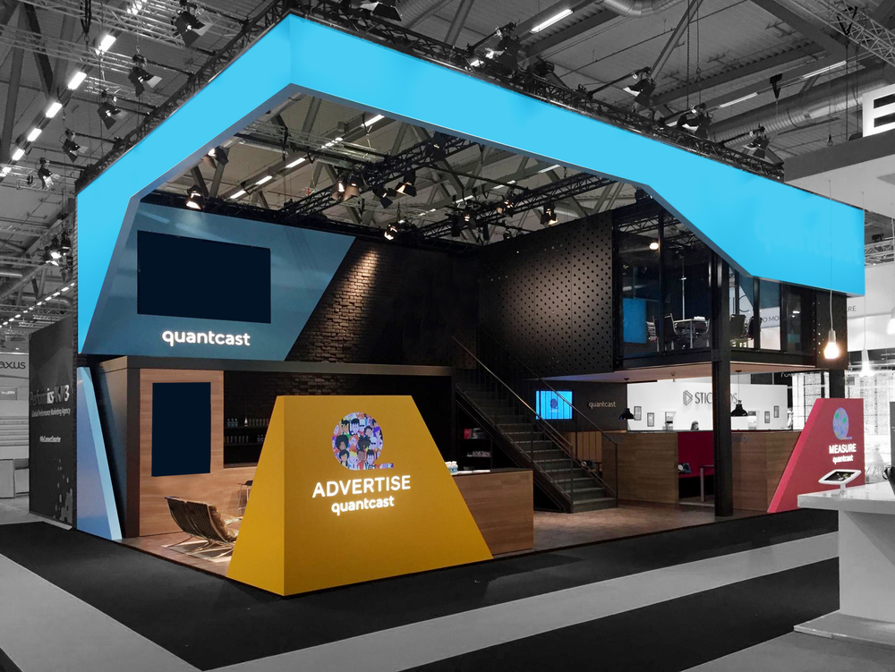 An example of the product lockups in use at DMEXCO 2015.