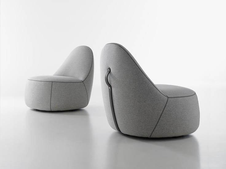 "Bernhardt ""Mitt"" Lounge Chair"