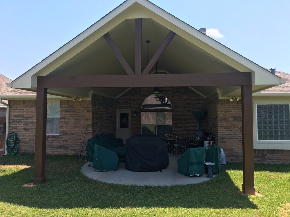 Outdoor patio cover
