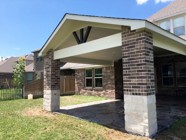 Patio Cover in Wimbledon Falls Tomball, TX