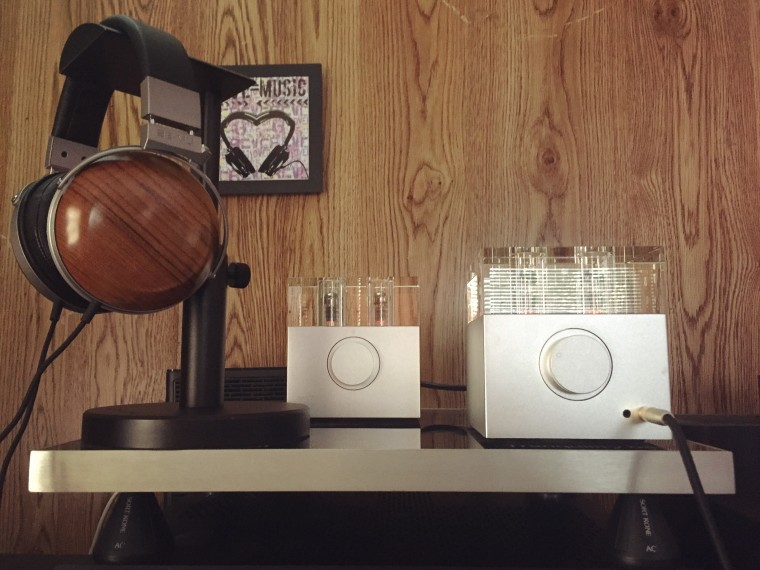 My Teak E-MUs and beloved Woo Audio WA7 Fireflies + WA7 tube power-supply make for a sonically addictive pairing!