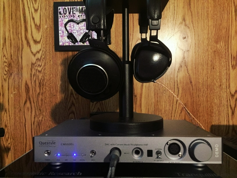 The amazing new Questyle Audio CMA600i headphone amp/DAC w/ ENIGMAcoustics Dharma D1000 + Audeze SINE on-ear planar magnetic hadphones