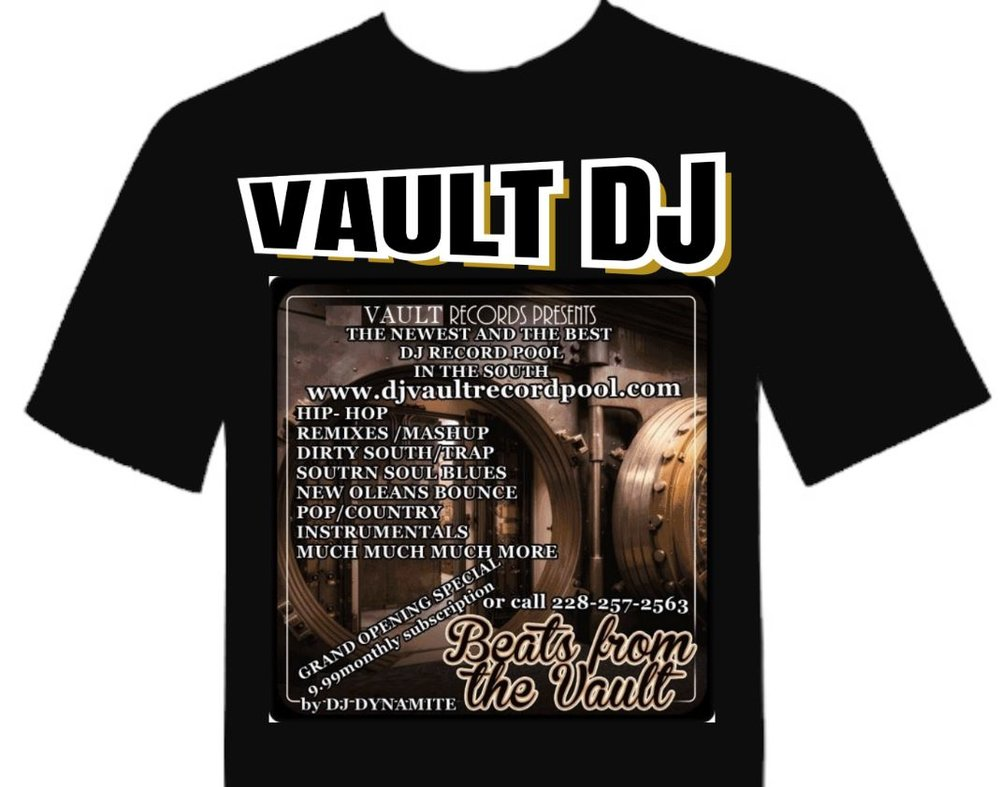JOIN FOR 6 MONTHS and Receive a Free  DJ Vault T-Shirt - 59.99