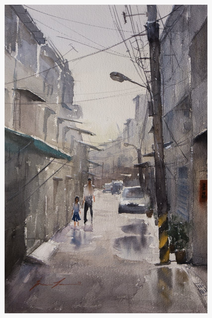 Alleyway in Fengyuan, Taiwan