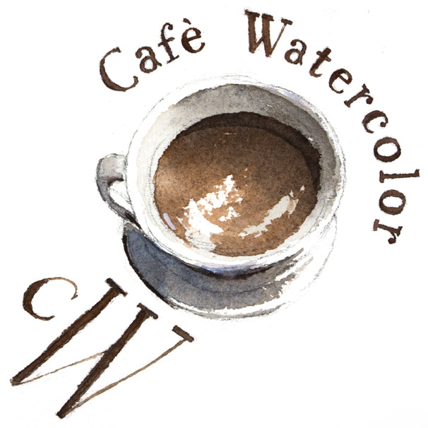 Café Watercolor