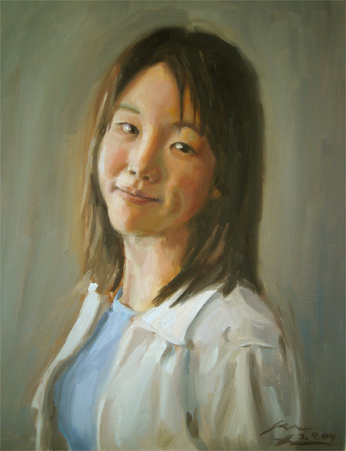 Betty, 2004, oil