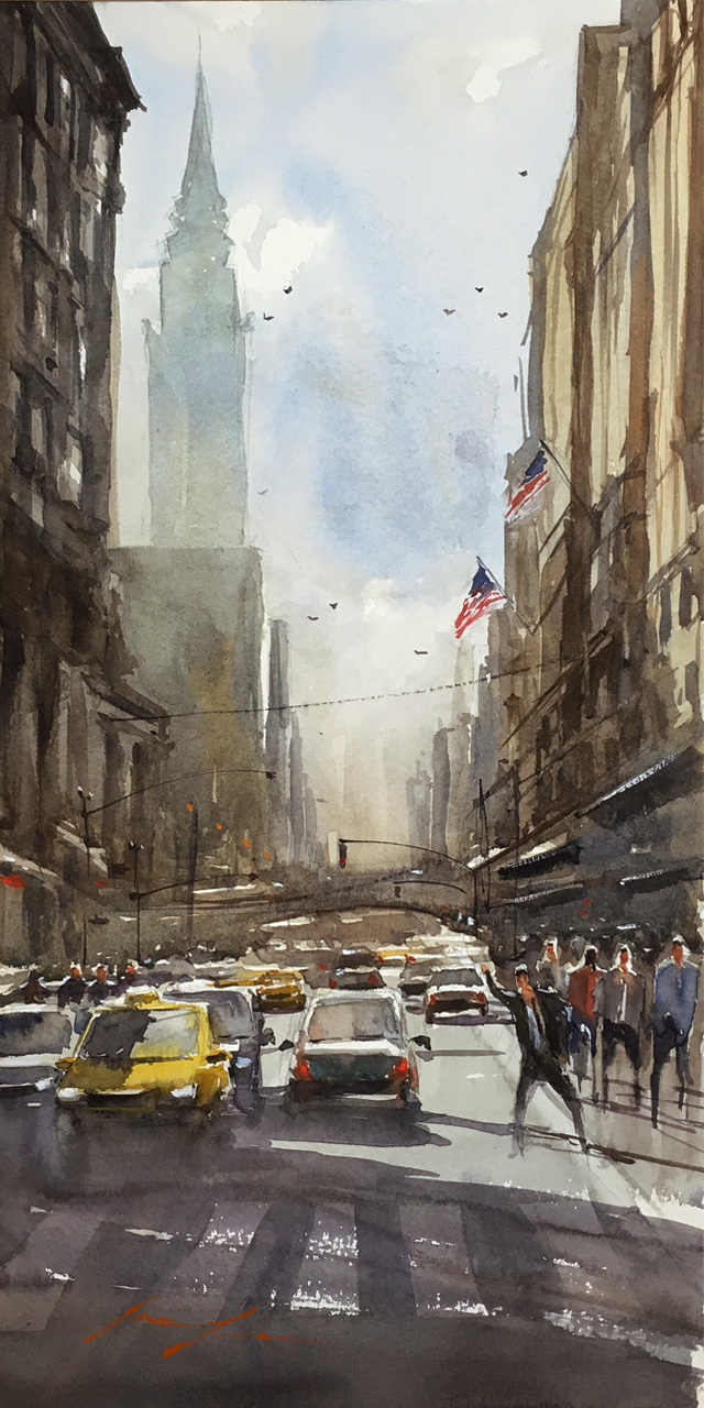 Madison Ave, NYC 10x20