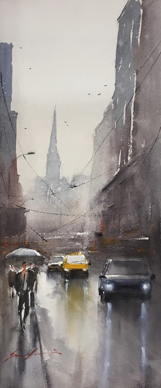 Rainy day in NYC