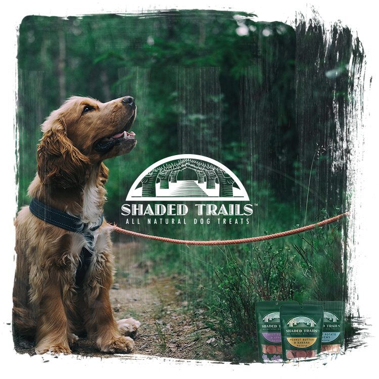 SHADED TRAILS ALL NATURAL DOG TREATS