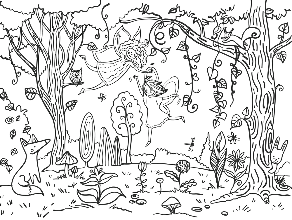 Forest placemat_ 40x30-01.png