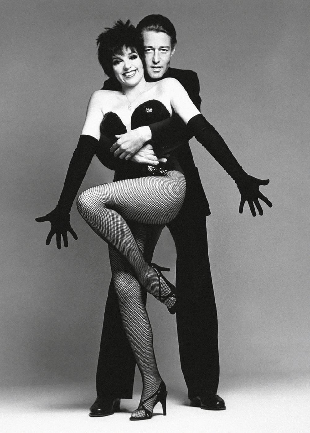 Halston and best friend Liza Minnelli.