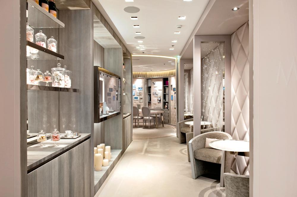 The newest Messika boutique in Paris. 259 Rue Saint Honoré.