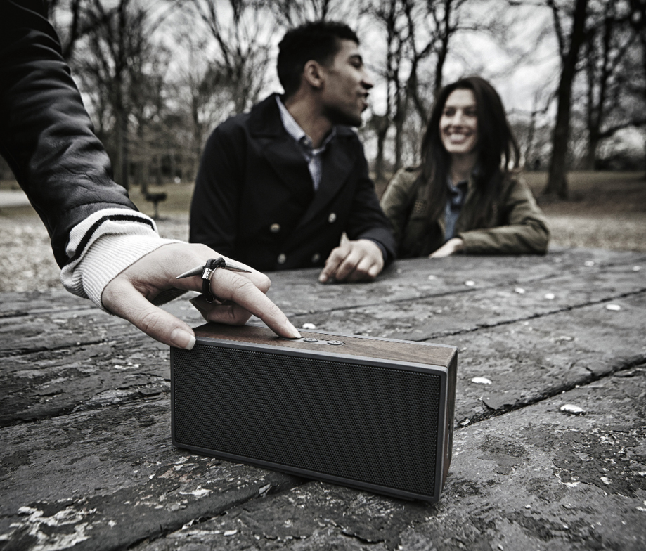 PWS ·  Packable Wireless Speaker System.
