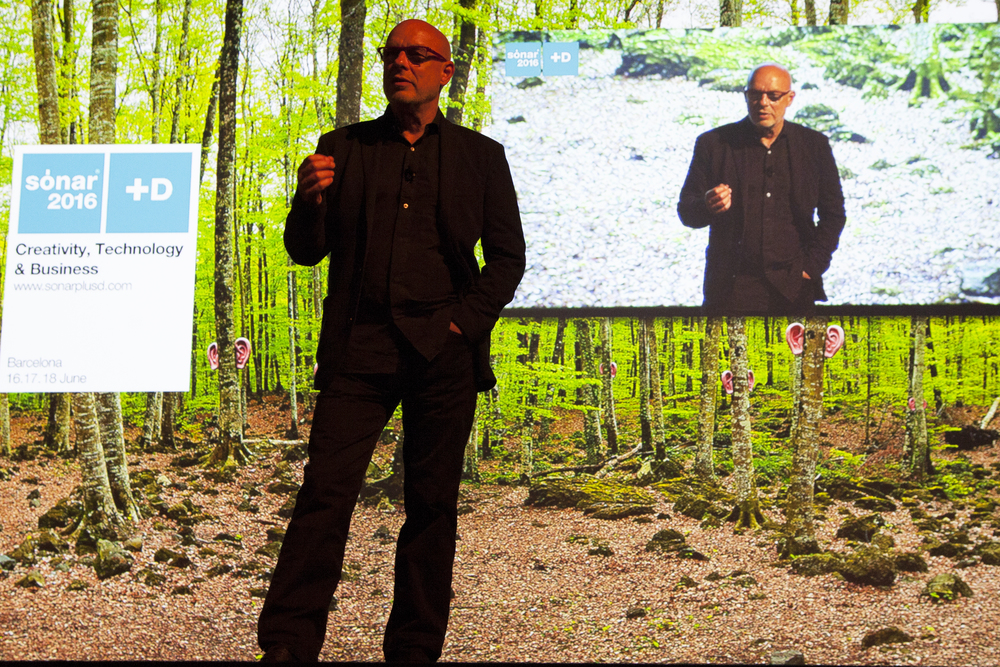 Conferencia Inaugural de Brian Eno en Sónar+D