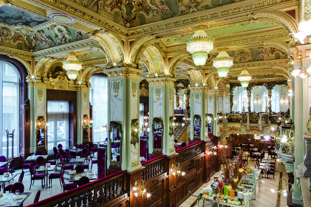Café New York en el Hotel Boscolo.