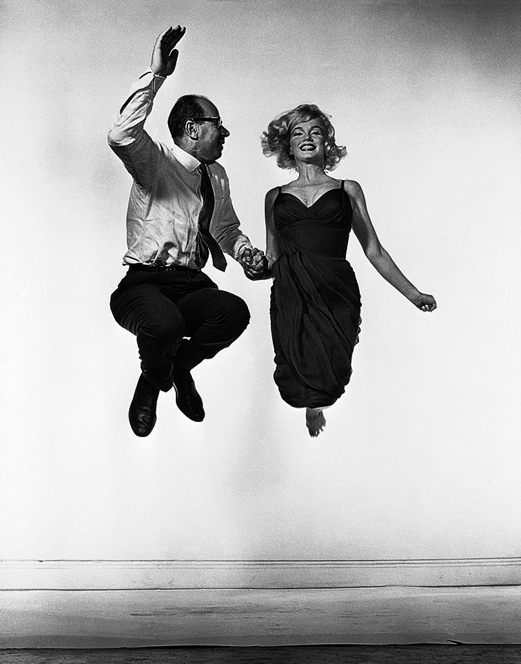 Halsman y Marilyn Monroe.