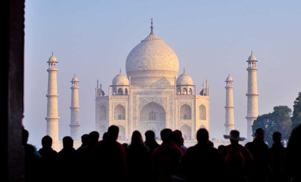 Agra.   Taj Mahal.© Chee Huey Wong.