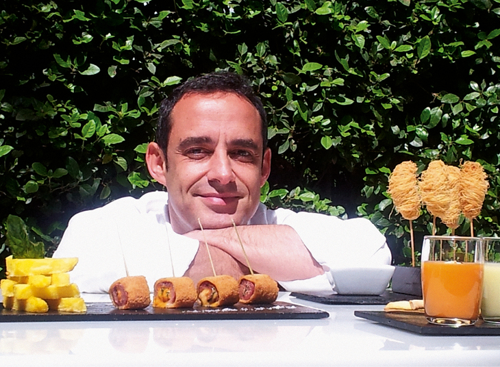 El Chef Jorge González.