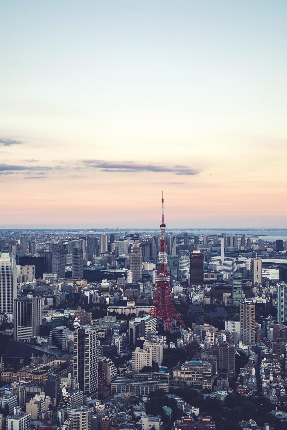 Nuestro viaje comienza en  Tokyo , la ciudad más poblada del mundo.