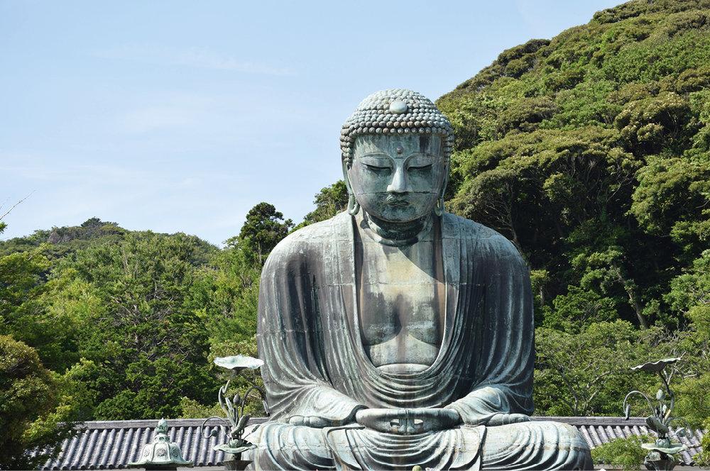 Kamakura . A tan sólo una hora de Tokyo en tren