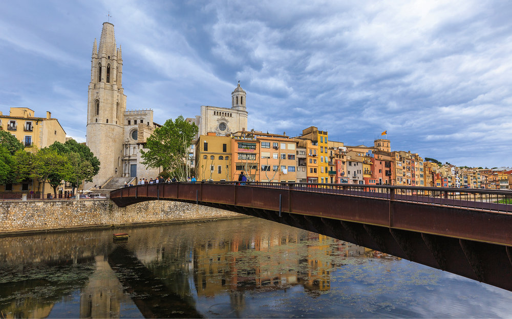 The city of Girona · © Arxiu Imatges PTCBG
